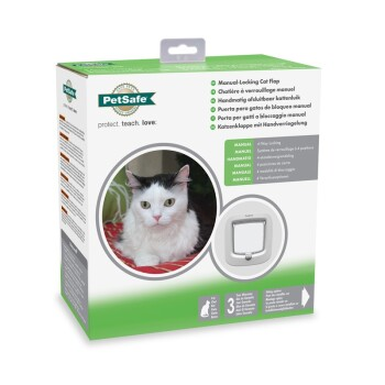 PETSAFE Katzenklappe Manual-Locking
