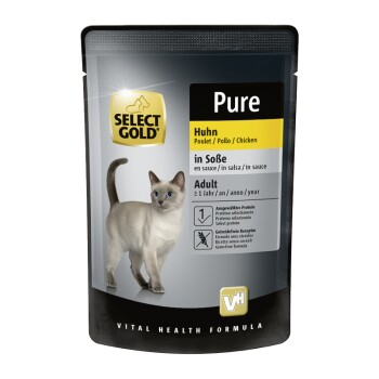 Adult Pure in Soße 12x85g Huhn