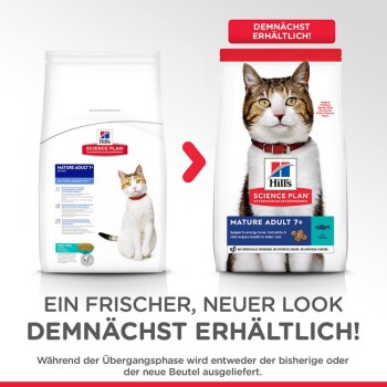 Feline Science Plan Mature Adult 7+ Thunfisch 1,5kg