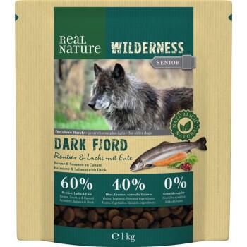WILDERNESS Senior Dark Fjord Rentier & Lachs mit Ente 1kg