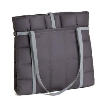 Reisedecke Travelbag Grau L