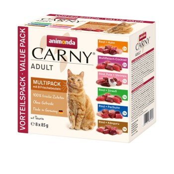 CARNY Adult Multipack 8x85g