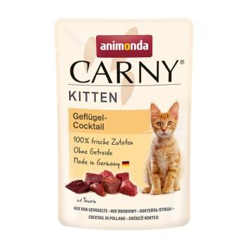 CARNY Kitten 12 x 85g Koktajl drobiowy