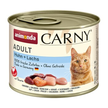 CARNY Adult 6x200g Huhn & Lachs