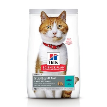 Feline Science Plan Young Adult Sterilised Thunfisch 10kg