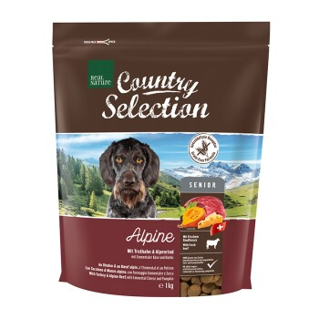 Country Selection Senior Alpine Truthahn & Alpenrind 1kg