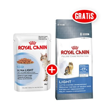 Ultra Light 12x85g + gratis Royal Canin Light 40 400g