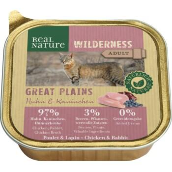 WILDERNESS Adult 16x100g Great Plains - Pollo e coniglio