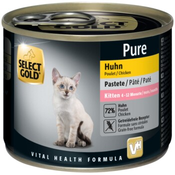 Pure Kitten Paté Huhn - 6x200g