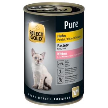 Pure Kitten Paté Huhn - 6x400g
