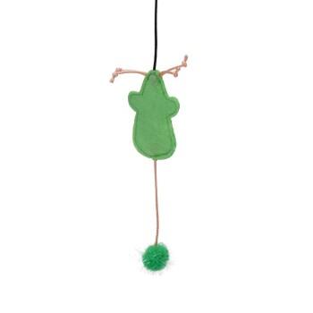 Spielzeugangel kurzer Stab Grün