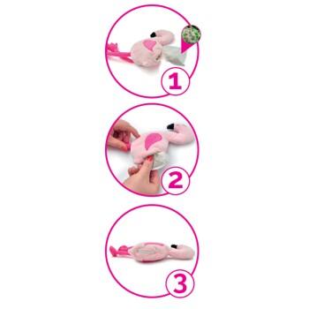 befüllbarer Flamingo Pinky