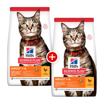 Feline Science Plan Adult Huhn 2x10kg