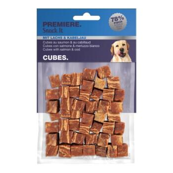 Snack It Cubes mit Lachs & Kabeljau