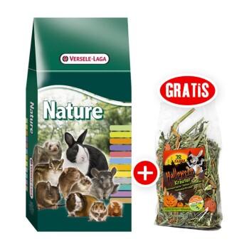 Versele-Laga Cuni Nature Re-Balance für Kaninchen + gratis JR Halloween Snack 100g