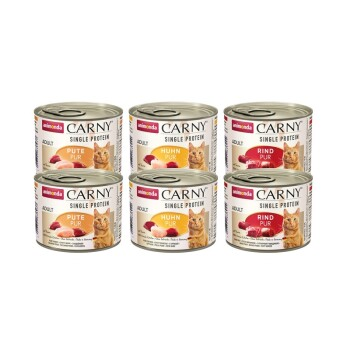 CARNY Adult Single Protein Mix 6 x 200g