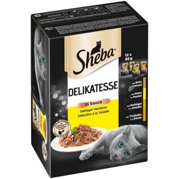 Delikatesse in Sauce Geflügel Variation 12 x 85g