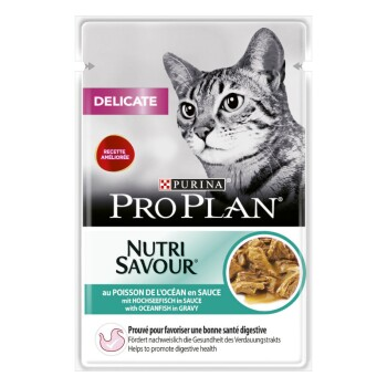 PURINA Delicate Nutrisavour 26x85g Thunfisch in Sauce