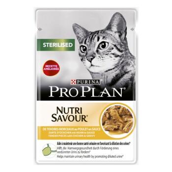 PURINA Sterilized Nutrisavour 26x85g Huhn in Sauce