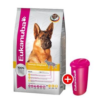Deutscher Schäferhund 12kg + gratis Futtertonne