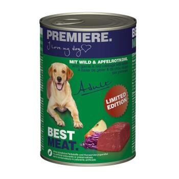 BEST MEAT Adult 12x400g Wild & Apfelrotkohl