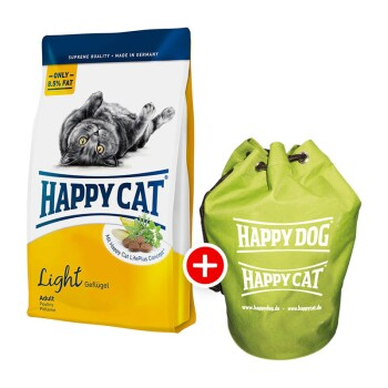 Happy Cat Supreme Light 10kg + Seesack gratis
