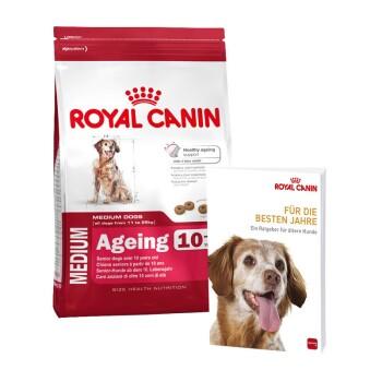 Size Medium Ageing 10+ 15kg + gratis Ratgeber für ältere Hunde