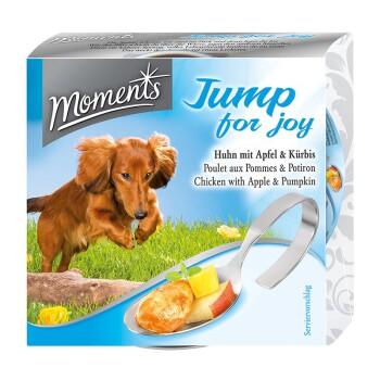 Jump for joy dla psów (kurczak z jabłkiem i dynią) 10x125g