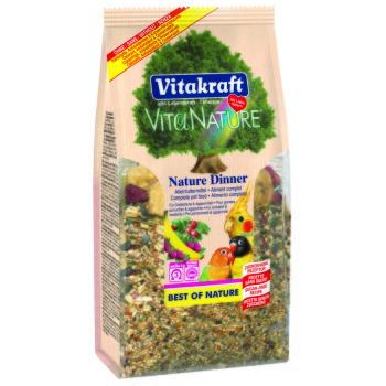 Vita Nature Dinner für Großsittiche/Agaporniden 750g 3x750g