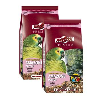 Loro Parque Mix Amazone Papagei Sparpaket 2x1kg