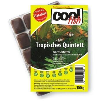 Tropisches Quintett 3 kg, 30 Blister à 100 g