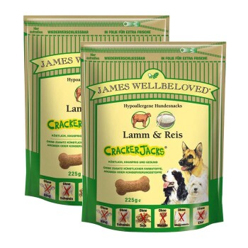 James Wellbeloved Cracker Jacks 2 x 225 g Lamm & Reis