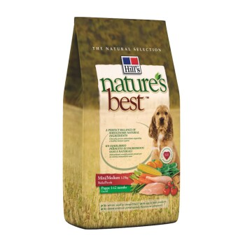 Nature's Best Canine Puppy Mini/Medium 2kg
