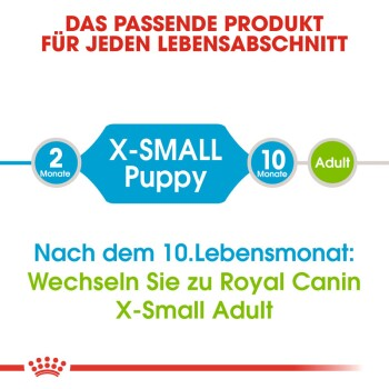 X-Small Puppy 2x3kg