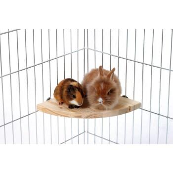 Ecketagen für Kleintiere 22x1,8x22 cm