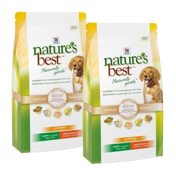 Nature's Best Canine Puppy Large/Giant Sparpaket 2x12kg