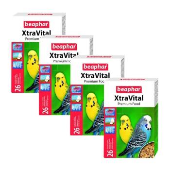 XtraVital Wellensittich-Futter Sparpaket 4x500g